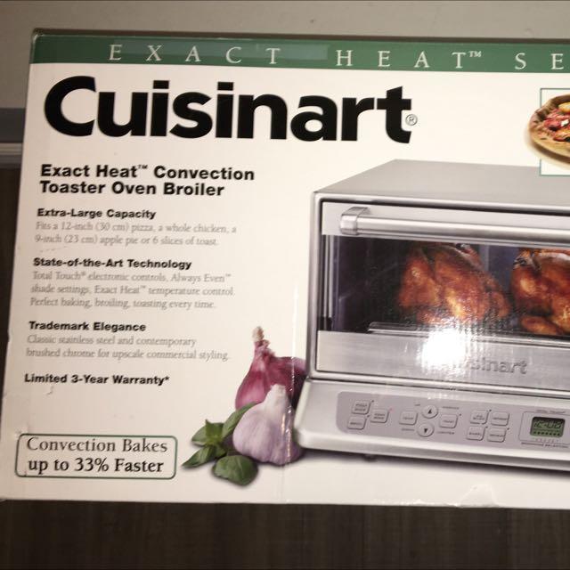 Cuisinart Exact Heat Toaster Oven