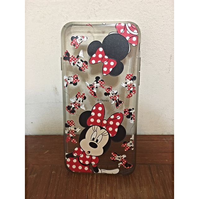 Disney 米妮 iphone6收機殼