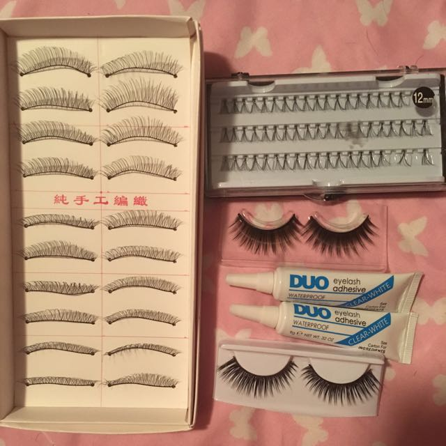 Eyelash/glue Pack - PENDING