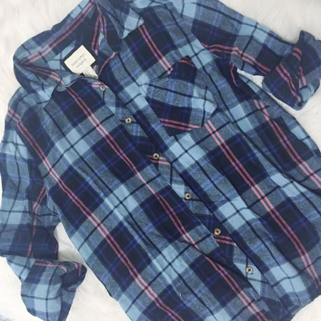 F21 Flannel Top