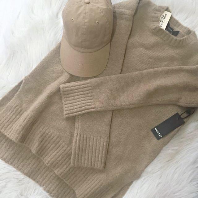 F21 Sweater Top