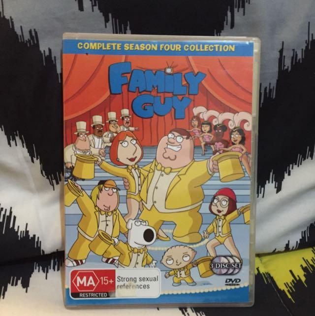 Family Guy Full season 4 DVD Set