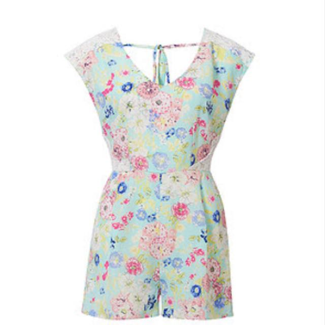 Floral Playsuit Size 10