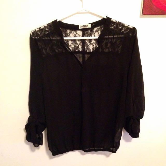 Garage Black Shirt