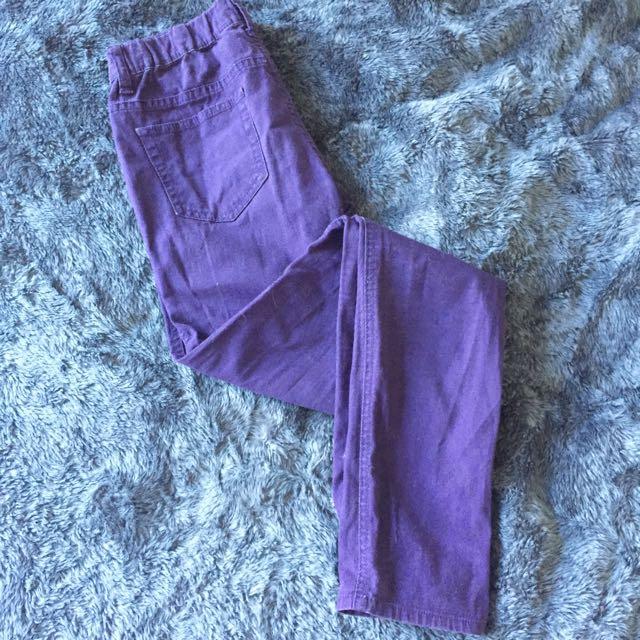 Giordano Cotton Slim Legs Pants