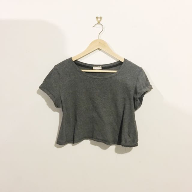 Grey Crop Basic