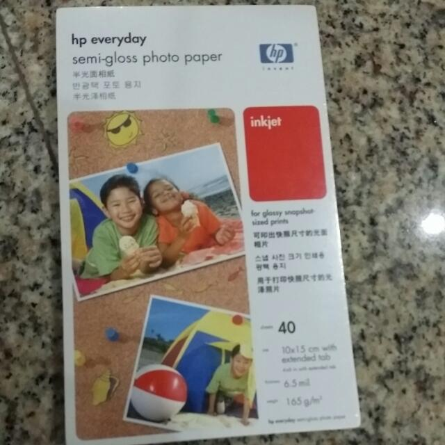 HP Semi Gloss Photo Paper, Photography on Carousell