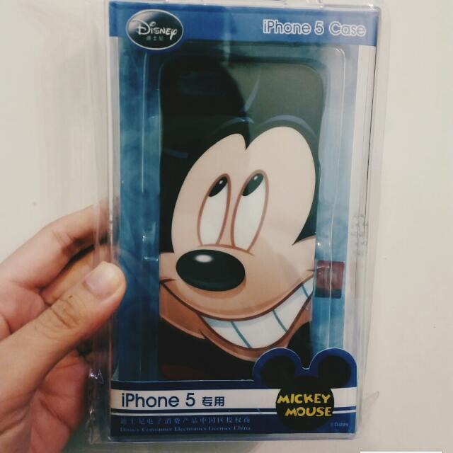 (全新贈)iPhone5/5s 米奇手機殼