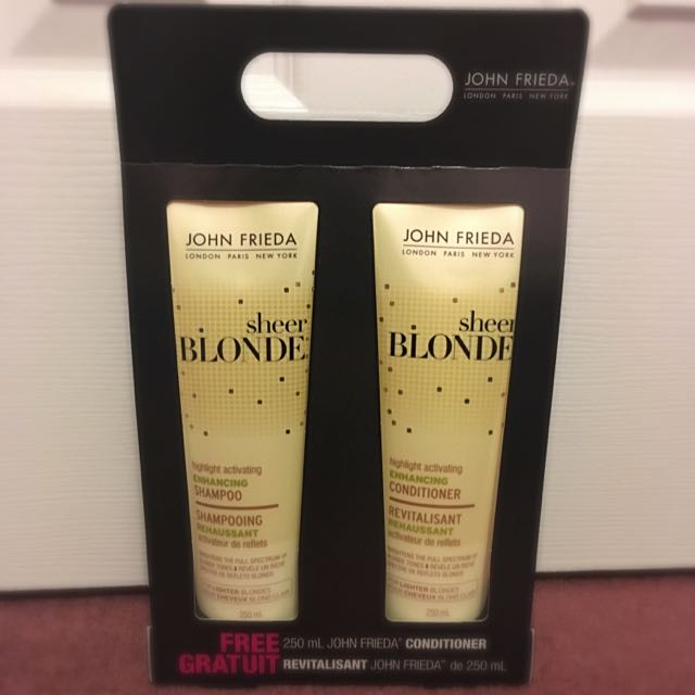 John Frieda Shampoo And Conditioner Duo