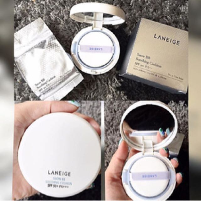 laneige bb soothing cushion #23 sand beige
