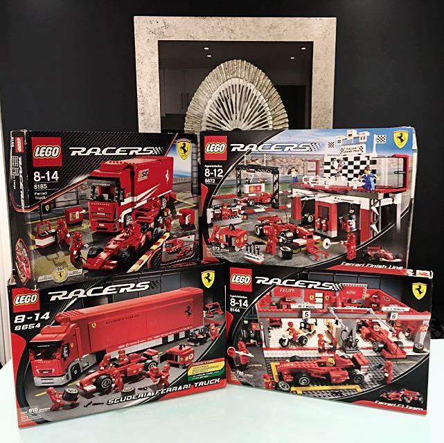 Lego Racer (year 2009) 8185, 8672, 8655, 8144