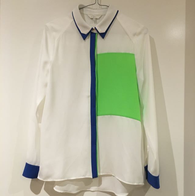 LILY Long Sleeve Button Up Shirt