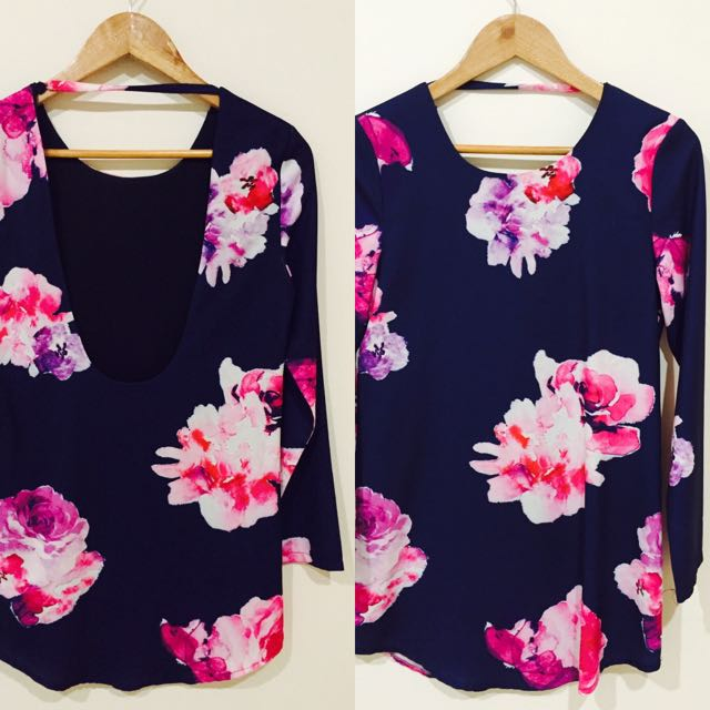 Low Back Dress Size Small