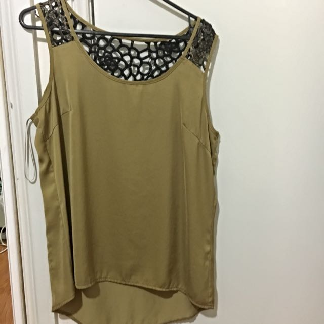 Mustard Size 12 Forcast Top