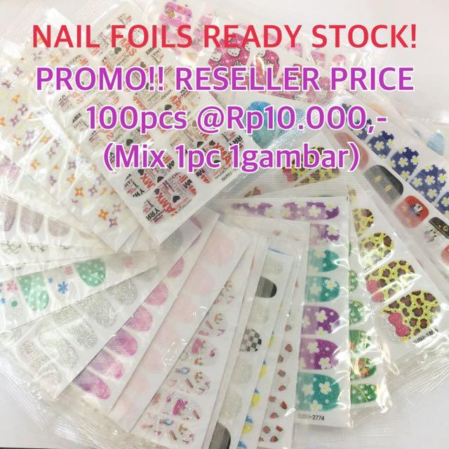 Nail Sticker / Nail Foils