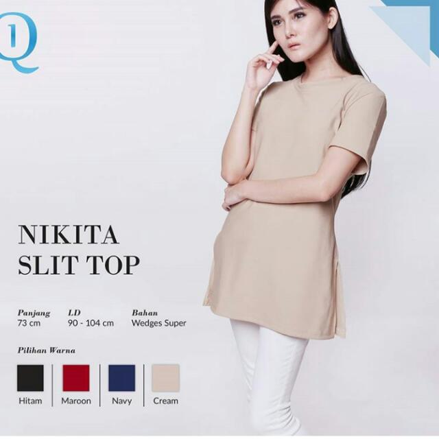 Nikita Slit Top