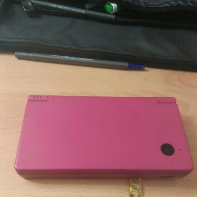 Nintendo DSi Pink