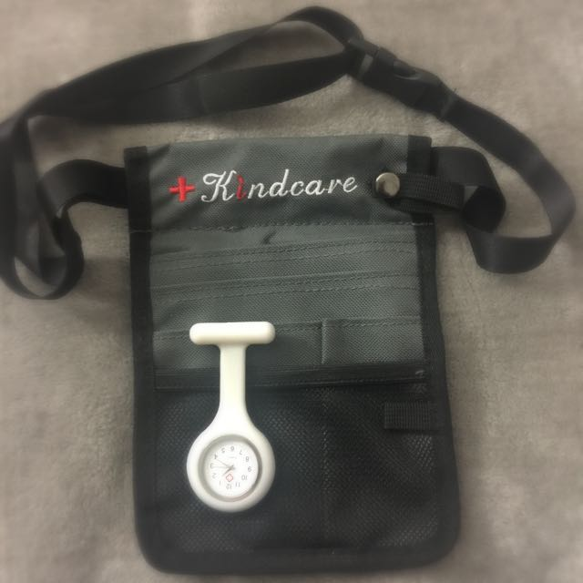 Nurses' Pouch And Watch