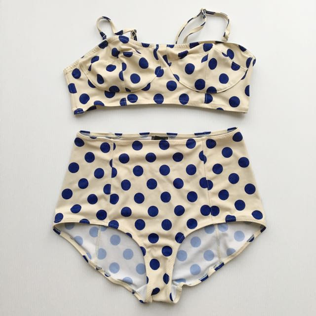 PL Monki Large Spot Bikini (from ASOS)