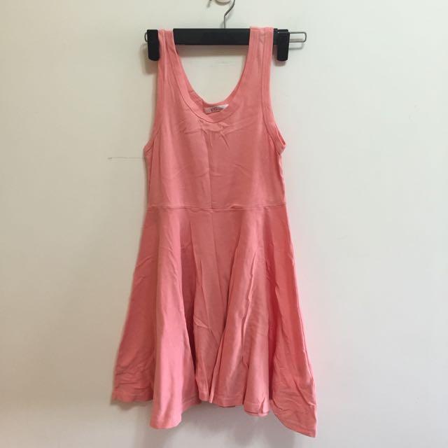 Ps粉色連身裙