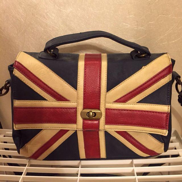 Pull & Bear 米字英國旗女裝三用袋