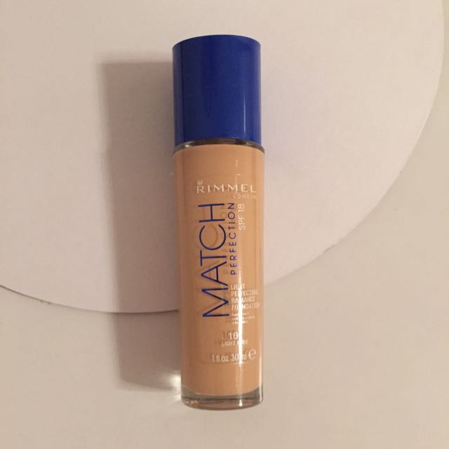 Rimmel Match Perfection Foundation In Light Nude