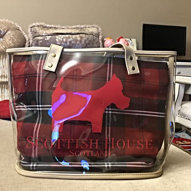 Scottish House 防水側背包