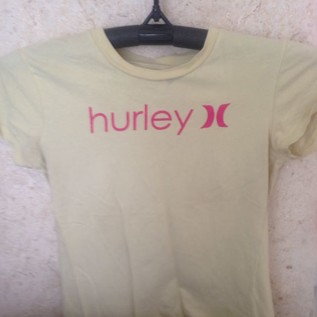 Short Sleeve Hurley Top