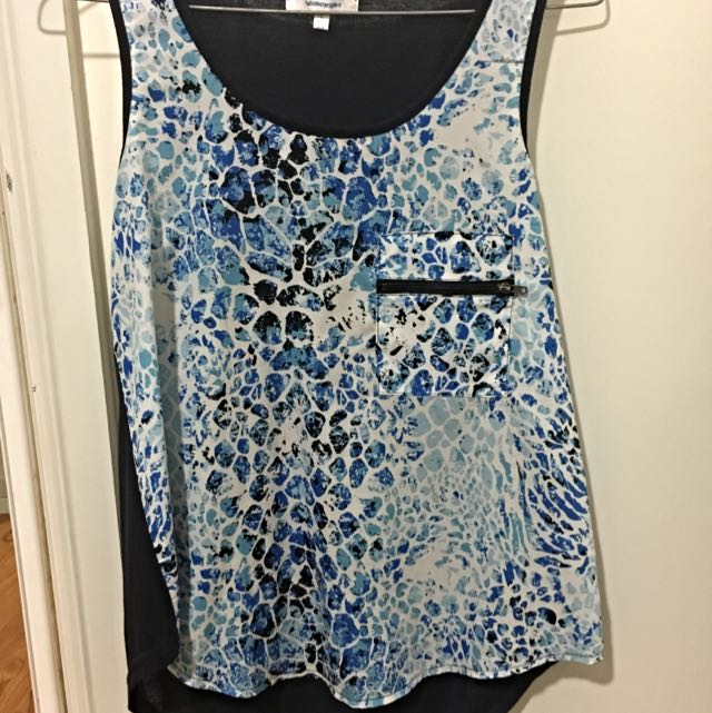 Size Small Valley Girl Top