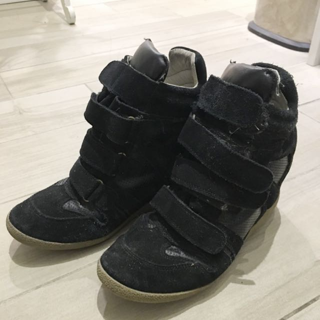 Steve Madden High Tops! Size 40 Suede And Leather