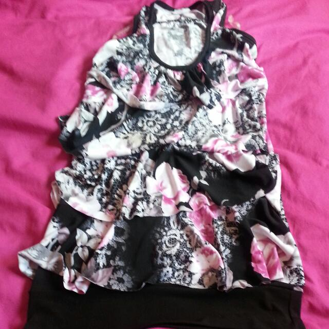 Stretchy Classy Floral Shirt