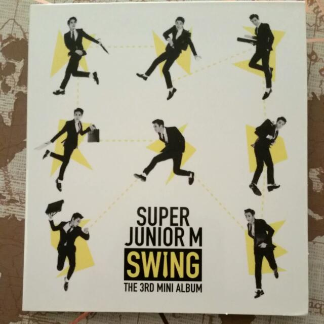 UNSEALED Super Junior M Swing Album With Kyuhyun Photocard