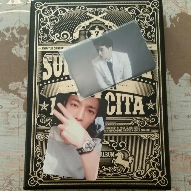 UNSEALED Super Junior MAMACITA Album with Donghae Photocard
