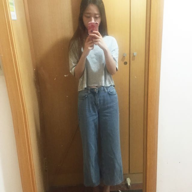 Zara寬褲
