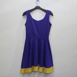 Purplish Blue Dress