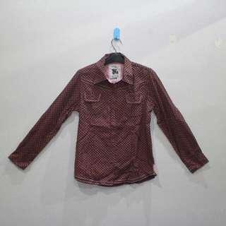 NEVADA - Purple Print Shirt