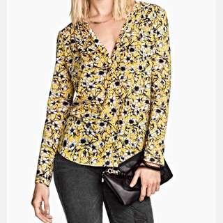 H&M Floral Print Shirt