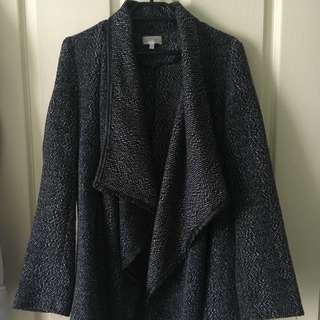 Lovely girl Thick Waterfall Jacket Size S