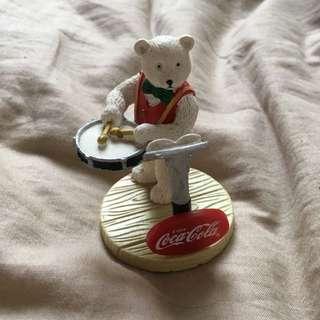 可口可樂北極熊擺設