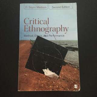 Critical Ethnography Textbook