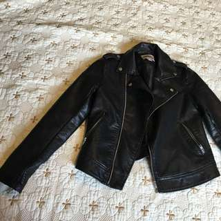 F21 Faux Leather Jacket. Size Xs/s
