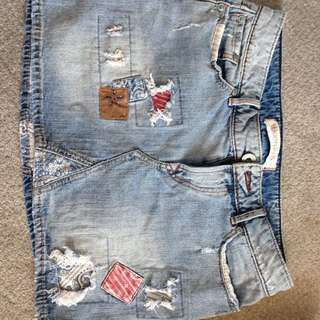 Rustic Cowgirl Skirt