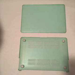 MacBook Air Mint Rubber Case