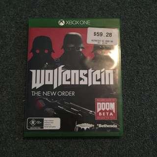 Wolfenstein The New Order X Box 1