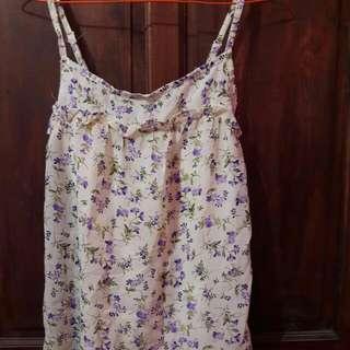 dress/outer flower vintage