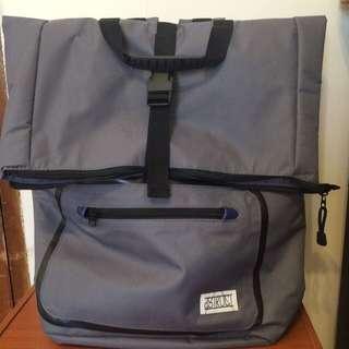 Asos D-struct Backpack 英國品牌 灰色後背包 (含運)