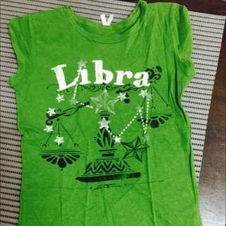 Libra Green Cute Shirt