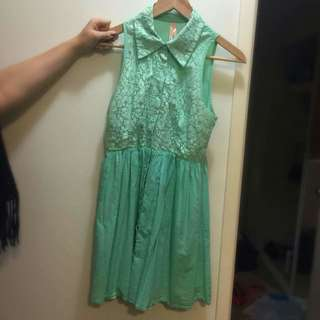 Ally Green Dress Size 8