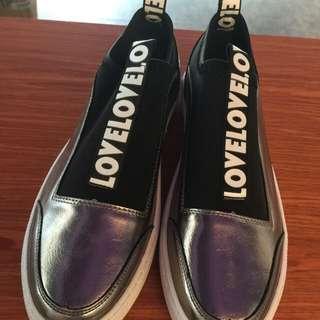 潮流韓版 男鞋 時尚款 歐美混搭 暗黑風