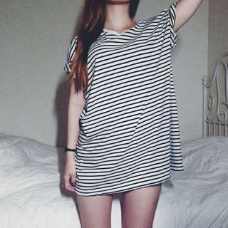 American Apparel stripe t shirt